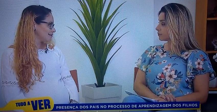 """Entrevista na Rede Record – """"A importância da presença dos pais no cotidiano dos filhos."""""""